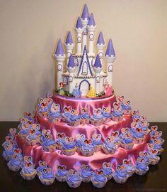 Fairytale Cupcakes for kyleigh  and emileigh