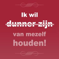 Hou van jezelf! #WeightWatchers