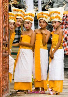 Celebration of the opening of a new temple in Kalibukbuk, Bali, By Alika