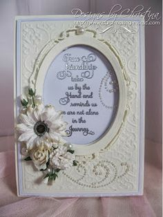Cards for your friend ... - Flowers, Ribbons and Pearls