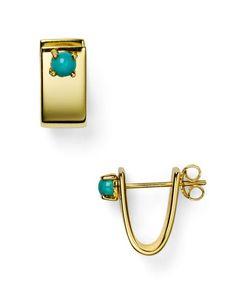 Jules Smith Sofia Huggie Earrings