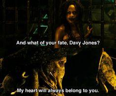 Calypso and Davy Jones <<< one of the greatest love stories around (Twilight's the WORST)
