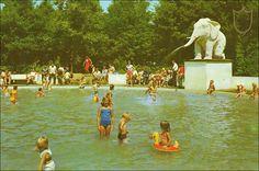 Efteling jaren 80 toen er nog een zwembad was, ik heb daar als kind veel gezwommen Jeugdsentiment. Vandaar dat wij een pasje nemen! Kan niet wachten. Ingaande 6dec 2013.