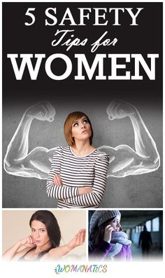 5 Safety Tips for Women #SafetyTips #Womanatics