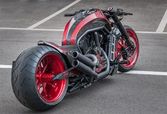 Harley Davidson V Rod Inspirada En El Koenigsegg AGERA-R Por No Limit Custom NLC