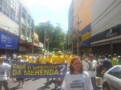RIBEIRÃO PRETO (SP): Manifestantes de Ribeirão Preto também se colocam contra suspeitas de fraude na merenda escolar