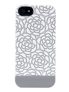 White Floral Lace iPhone 5 Capsule Case by Uncommon on Gilt.com
