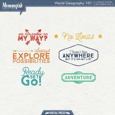 Free Stamps from Mommyish {DigiScrap Parade August 2015: World Geography 101}