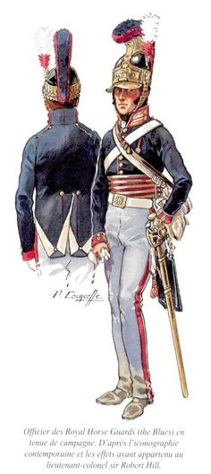 Royal Horse Guards, Officer, 1815 by P.