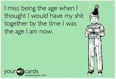 I Miss Being The Age