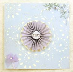 Card Making Project - Aurora Pin Wheel Card