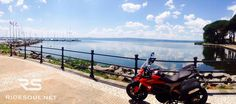 The Lake of Bolsena! #motorcycle #tour #italy