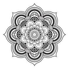 I want to draw my own mandala designs soon.