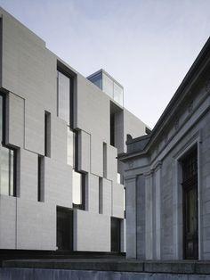 Galeria - Edifício de Pesquisas de Ciências Humanas / Mccullough Mulvin Architects - 7