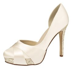 Brautschuhe Rainbow Club /Christy 3(36) ivory