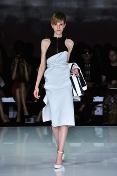 Toni Maticevski Ready-to-Wear S/S 2013/14 - hair by Jayne Wild for ghd