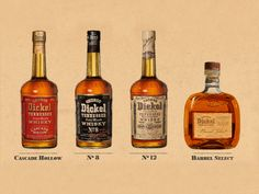 George Dickel Tennessee Whiskey - The Best of Nashville's Local Distilleries - Nashvillelifestyles.com