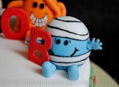 Mr Bump - Mr Men Birthday Cake