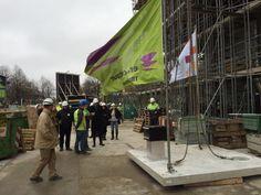 Ruim een jaar na start bouw van De Verkenner in Utrecht bereikte de woontoren op dinsdag 10 november haar hoogste punt.