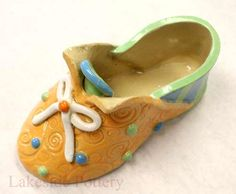 clay shoe kids slab project