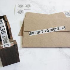 #gettoworkbook GET TO WORK washi tape