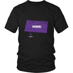 Wyoming - Alzheimer's Awareness Home Tee