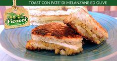 Toast con patè di melanzane ed #Olive. http://www.ficacci.com/ricetta-Toast-con-pat%C3%A8-di-melanzane-ed-olive-515/ ★Vota la ricetta e vinci le olive★ Partecipa al concorso settimanale!