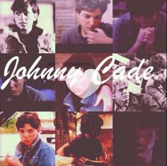 Johnny Cade♥I saw this and automatically got misty-eyed. He was my favorite character in the book.