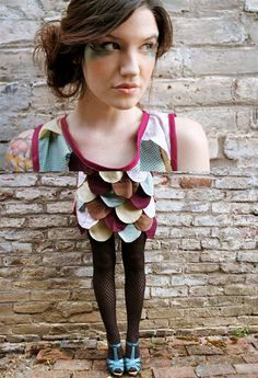 DIY Owl costume @Blair R Sturm could totally see you doing this!
