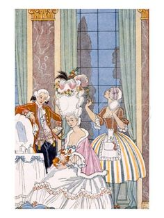 From The Romance of Perfume by Georges Barbier