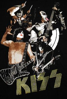 KISS - I was made for lovin you Rock N Roll, Rock And Roll Bands, Paul Stanley, Peter Criss, Gene Simmons, Blues Rock, Hard Rock, Eric Singer, Heavy Metal