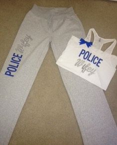 Police Wifey Tank. Ordering mine <3