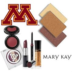 The University of Minnesota has us seeing maroon and gold after their Fall Into Your Beauty College Tour stop! Get the perfect Goldy look with these Mary Kay® products. #MKFallBeauty