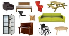 PNG Paradise: Cutouts of Furniture, People, Trees and More