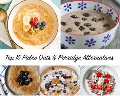Top 15 Paleo Oatmeal & Porridge Alternatives | Eat Drink Paleo