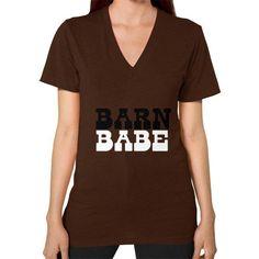 Barn Babe Women's V-Neck Tee