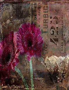 Collage No. 15 created by Citra Artist: Christy RePinec, LemonTrystDesigns©2013 Citra Solv art