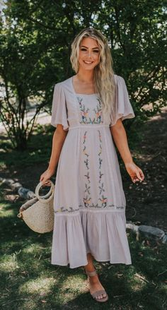 Modest Outfits, Modest Fashion, Boho Fashion, Fashion Outfits, Modest Clothing, Modest Dresses Casual, Boho Summer Dresses, 80s Fashion, Skirt Outfits