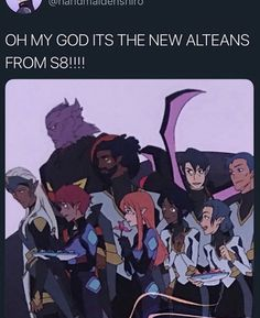 ugh they're gonna be another Paladins parallel like the garrison bois im so done im probs not gonna care about them at all Form Voltron, Voltron Ships, Voltron Klance, Voltron Memes, Voltron Fanart, Geeks, Ninja, Allura, Space Cat