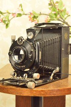 HELIAR LENS! on a 1927 Voigtlander BERGHEIL Camera, FRESHLY SERVICED, CLA'd #Voigtlander