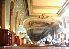 A library in the Sorbonne