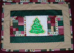 Christmas Placemats using Machine Embroidery Design from Embroidery Library! - found in Stitchers Showcase