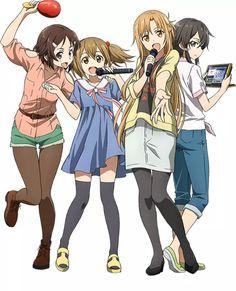Rikka, Ayano, Asuna & Shino