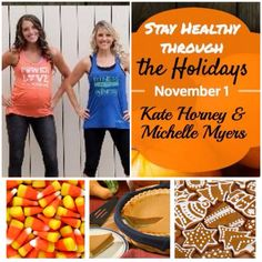 The holidays are coming quickly & with all the yummy treats and parties that happen during these two months, it's easy to get off track. So I'm teaming up with two extraordinary women in November to stay healthy through the holidays, @michellelmyers & Kate Horney.  Along with support and motivation, there will be weekly Q&A webcasts and daily tips from these two wonderful ladies!!!  This is going to be the best challenge group yet!