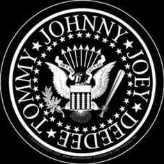 Licenses Products Ramones White Eagle Sticker >>> Read more @