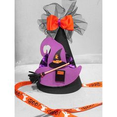 A personal favorite from my Etsy shop https://www.etsy.com/listing/249209097/ready-to-ship-halloween-birthday-hat