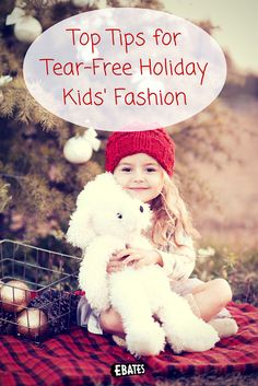 Keep them comfortable while looking cute with these kids' fashion staples and tips for all your upcoming holiday festivities.