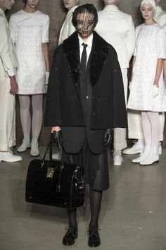 dea012bc4b6 The complete Thom Browne Fall 2015 Ready-to-Wear fashion show now on Vogue