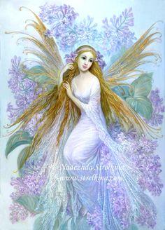 Lilac fairy by Fantasy-fairy-angel.deviantart.com on @DeviantArt - Pin it by GUSTAVO BUESO-JACQUIER