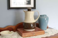 """80s Thermos Pitcher - """"Ingried"""" - Made in West Germany"""